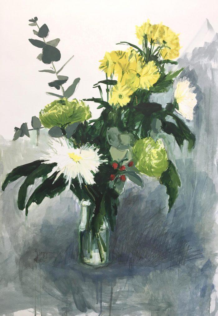 Flores amarillas I