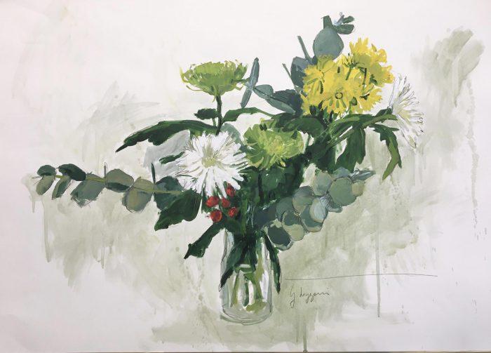 Flores amarillas II